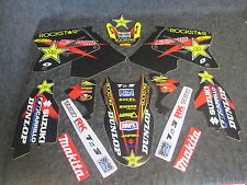 Suzuki RM125 RM250 2001-2010 Rockstar Energy Team graphics + plastics GR1009