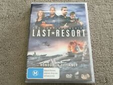Last Resort : Complete Series (DVD, 3-Disc Set) NEVER PLAYED & STILL SEALED