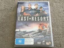 Last Resort : Complete Series (DVD, 3-Disc Set) NEVER PLAYED & STILL SEALED