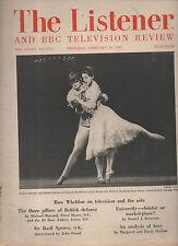 RUDOLF NUREYEV, MARGOT FONTEYN,THE LISTENER MAGAZINE.1965,ROMEO AND JULIET