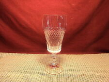 Schott Zweisel Crystal Criss Cross & Panel Design Iced Tea Goblet 7 1/2""
