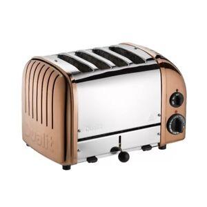 Dualit Classic Vario AWS 4 Slot Toaster Copper - 47450