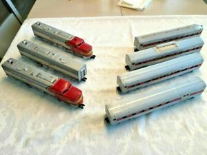 "American Flyer by Gilbert #5375W ""The Chief"" Santa Fe Passenger set! L@@K"