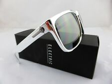 Electric Knoxville XL Sunglasses Black Chrome Frame Ohm Grey Silver EE11259021