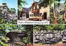 95239 Zell im Fichtelgebirge  -  Aussichtspavillon - Gaststätte Waldstein - 1970