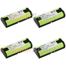 4x Rechargeable Phone Battery for Panasonic HHRP105 HHR-P105 HHRP105A HHR-P105A