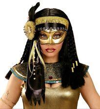 Cleopatra Deluxe Oro Occhi Maschera Mascherata Ballo in Maschera Egiziana Costume