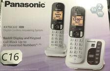 ✅ Panasonic Wireless Telephone KX-TGC222S Digital Cordless Answering System