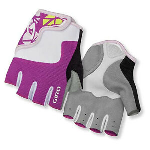 Giro Cycling Gloves Glove Bravo Jr Pink Breathable Robust Flexible