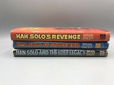 Lot of 3 Star Wars Han Solo at Stars End Lost Legacy Revenge Brian Daley HC