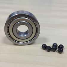 Ceramic bearing set of 4 MR52zz, 2mm ID x 5mm OD x 2.5mm Width