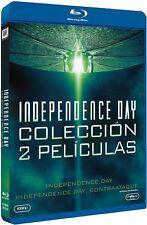 INDEPENDENCE DAY 1 + 2 COLECCION BLU RAY CONTRAATAQUE NUEVO ( SIN ABRIR )
