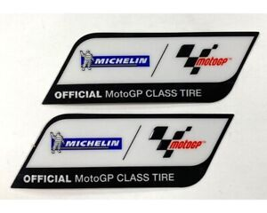 Michelin Official Moto GP Factory Decal Set Of 2