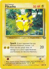 Pikachu Jungle Pokémon Individual Cards