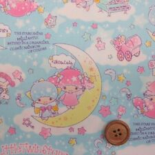 SANRIO Little Twin Stars / Japanese Fabric 110cm x 50cm