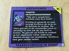 Transformers G1 ARCHFORCE G2 biocard tech dutch