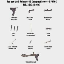 New For GLOCK 19 Gen 3 Lower Parts Kit OEM 9MM 9 80 Spectre PF940C Polymer LPK
