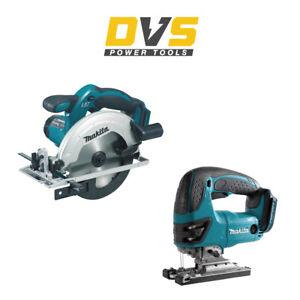 Makita DSS611Z & DJV180Z Cordless 18V Circular Saw and Jigsaw Body Only Set