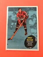 Murray Balfour 1961-62 Topps #33  Vintage Hockey Card