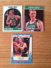 Lote De Trabajo Larry Bird baloncesto de la NBA Trading Cards Inc 1989 Fleer Pegatina