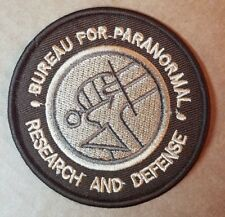 Hellboy Bureau For Paranormal Research & Defense embroidered Patch 3 inches