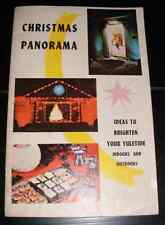 1962 Christmas Panorama Booklet