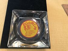 Vintage Circle RB Lodge Reno Nevada Casino Ashtray Reno's House Of Prime Ribs