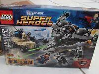 LEGO DC Universe Super Heroes Superman Battle of Smallville (76003) damaged box