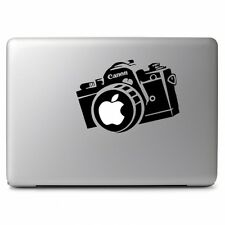Apple Camera Canon Vinyl Decal Sticker for Macbook Air Pro 11 13 15 17 Laptop