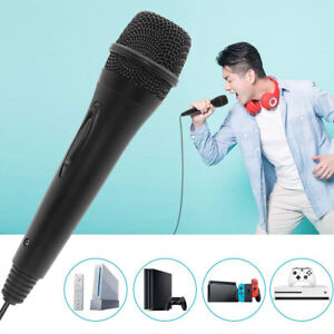 USB Wired Microphone Mic for Nintendo Switch Wii PS4 PS3 Xbox 360 One PC