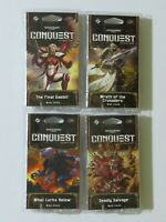 Warhammer 40k Planetfall 4x War Packs (240 Cards) NEW Conquest Card Game 40,000