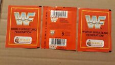 WWF, 1992, Merlin, 3 Packs With Stickers