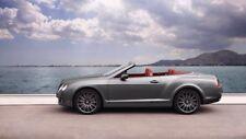 2010 Bentley Continental GT CARS2008 Art Print Poster A4 A3 A2 A1