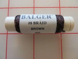 U Pick KREINIK (Balger) METALLIC THREADS #8 Fine Braid - 11 Yard (10M) Spool