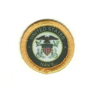 """1 1/2 """" Militaire Seal Of The US Marine à Repasser Patch à Coudre"""