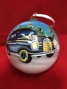 Mercedes-Benz Christmas Ball Ornament Weihnachtskugein