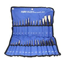 ABN®   Cold Chisel Set Automotive Punch Tool Kit – 29-Piece Punch Chisel Set