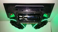 Golf Cart Stereo Radio UTV Polaris RZR Ranger 6.5 Kickers & Multi Colored Lights