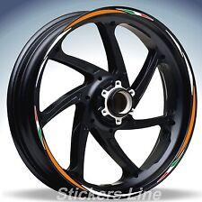 Adesivi ruote moto strisce cerchi per KTM modello Racing4 stickers wheel for ktm