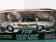 Ertl 1:18 1966 Knafel Pontiac GTO Tin Indian Drag Car Issue # 2 Limited Edition