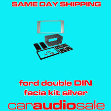 FORD FOCUS 05> CMAX 05> DOUBLE DIN FACIA FASCIA PLATE 2 DIN FITTING KIT CT23FD04