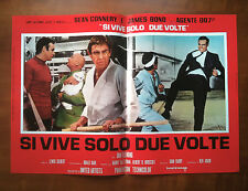 007 SI VIVE SOLO DUE VOLTE fotobusta poster Connery You Only Live Twice CU17