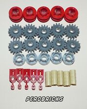 Lego Technic Technik 10 Liftarme 2 Löcher #43857 blau
