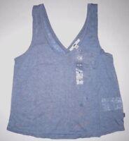 Vans Womens Buckley Pocket Tank Top Vest Tee t T-shirt Shirt Small
