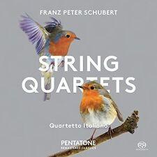 FRANZ PETER SCHUBERT: STRING QUARTETS NEW CD
