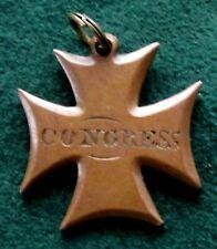 Congress Medal of John Wesley Davis 1799 - 1859 Indiana Representative