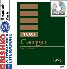 1993 Ford Cargo Truck Shop Service Repair Manual CD Engine Drivetrain Electrical