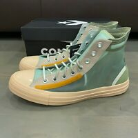 Converse All Star Hi See Through 167274C Emerald Shimmer Papyrus Men's Size 13