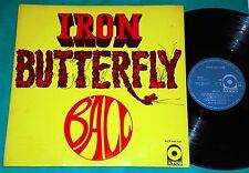 Iron Butterfly - Ball BRAZIL 1st press LP MONO 1969 ATCO