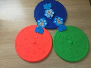 Frisbee Dog play Toy pet Toy Plastic Toy for Dog Cat Toys dog fresh breath